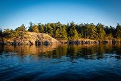 ειρηνικά ύδατα Στοκ φωτογραφίες με δικαίωμα ελεύθερης χρήσης