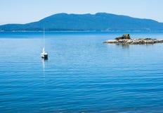 Ειρηνική ακτή στο πολιτεία της Washington, ΗΠΑ Στοκ φωτογραφία με δικαίωμα ελεύθερης χρήσης