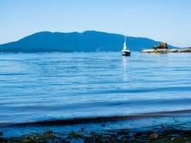 Ειρηνική ακτή στο πολιτεία της Washington, ΗΠΑ Στοκ Φωτογραφία