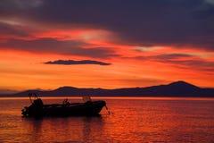 Ειρηνική αυγή Στοκ Εικόνες