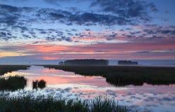 Ειρηνική αυγή Στοκ εικόνες με δικαίωμα ελεύθερης χρήσης