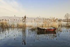 Ειρηνική βάρκα Στοκ φωτογραφίες με δικαίωμα ελεύθερης χρήσης