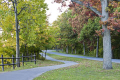 ειρηνικός δρόμος Στοκ Εικόνες