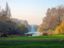 Ειρηνικός κήπος Στοκ Εικόνα