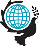 ειρηνικός κόσμος κούτσο&up ελεύθερη απεικόνιση δικαιώματος