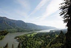 ειρηνικός ποταμός του βορειοδυτικού Όρεγκον φαραγγιών της Κολούμπια Στοκ φωτογραφίες με δικαίωμα ελεύθερης χρήσης