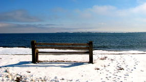 Ειρηνικός χειμώνας Στοκ Εικόνα