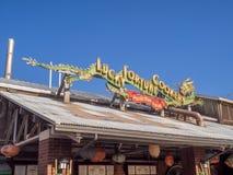 Ειρηνικό εστιατόριο αποβαθρών, πάρκο περιπέτειας της Disney Καλιφόρνια Στοκ φωτογραφία με δικαίωμα ελεύθερης χρήσης