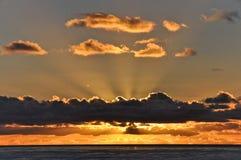 Ειρηνικό ηλιοβασίλεμα 2 Στοκ εικόνα με δικαίωμα ελεύθερης χρήσης