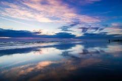 Ειρηνικό ηλιοβασίλεμα Στοκ εικόνα με δικαίωμα ελεύθερης χρήσης