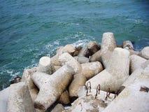 Ειρηνικό σημείο στη θάλασσα στοκ εικόνα με δικαίωμα ελεύθερης χρήσης