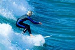 ειρηνικό surfer Στοκ εικόνα με δικαίωμα ελεύθερης χρήσης