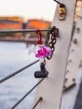 Ειρηνιστές σε μια γέφυρα Στοκ εικόνες με δικαίωμα ελεύθερης χρήσης