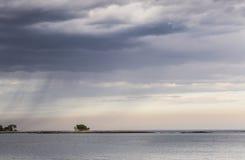 Εισερχόμενη βροχή Στοκ εικόνες με δικαίωμα ελεύθερης χρήσης