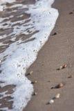 εισερχόμενη παλίρροια Στοκ φωτογραφία με δικαίωμα ελεύθερης χρήσης
