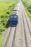 εισερχόμενο τραίνο Στοκ φωτογραφία με δικαίωμα ελεύθερης χρήσης