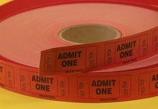 εισιτήρια αποδοχής στοκ φωτογραφία με δικαίωμα ελεύθερης χρήσης