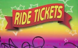 Εισιτήρια γύρου Στοκ Φωτογραφία