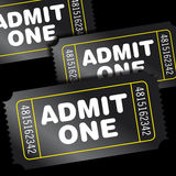 εισιτήρια κινηματογράφων Στοκ φωτογραφία με δικαίωμα ελεύθερης χρήσης