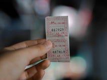 Εισιτήρια στους προορισμούς Στοκ φωτογραφία με δικαίωμα ελεύθερης χρήσης
