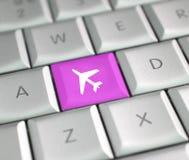 εισιτήριο αεροπλάνων στοκ φωτογραφίες