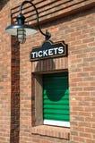 εισιτήριο γραφείων Στοκ Εικόνα