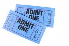 εισιτήριο δύο Στοκ Εικόνα