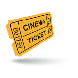 εισιτήριο εισόδων Στοκ Φωτογραφίες