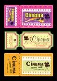 Εισιτήριο κινηματογράφων απεικόνιση αποθεμάτων