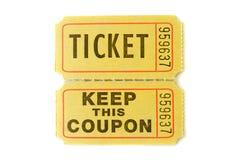 εισιτήριο στελεχών λοτ&alp Στοκ εικόνες με δικαίωμα ελεύθερης χρήσης