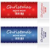 εισιτήριο Χριστουγέννων Στοκ Φωτογραφίες
