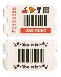 Εισιτήριο Arcade Στοκ φωτογραφία με δικαίωμα ελεύθερης χρήσης
