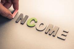 εισόδημα στοκ εικόνα με δικαίωμα ελεύθερης χρήσης