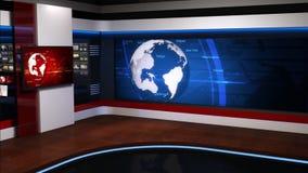 Ειδήσεις studio_054 απόθεμα βίντεο
