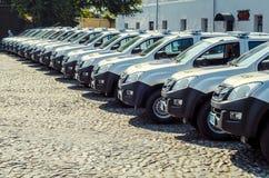 Ειδικά αυτοκίνητα αστυνομικών Volynskaiy δώρων από τους Πολωνούς Στοκ φωτογραφίες με δικαίωμα ελεύθερης χρήσης
