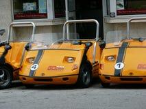 Ειδικά αυτοκίνητα ενοικίου τουριστών Στοκ εικόνα με δικαίωμα ελεύθερης χρήσης