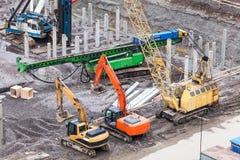Ειδικά μηχανήματα κατασκευής Στοκ φωτογραφίες με δικαίωμα ελεύθερης χρήσης