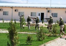 Ειδικές δυνάμεις του Αφγανιστάν στοκ εικόνες