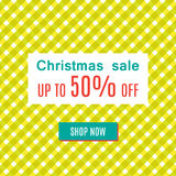 Ειδική πώληση Χριστουγέννων Στοκ φωτογραφίες με δικαίωμα ελεύθερης χρήσης