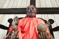 Ειδικός ναός Νάρα Todiji ορόσημων του Βούδα δημόσια Στοκ Εικόνες