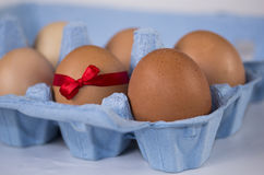 Ειδικό αυγό προσφοράς Πάσχας Στοκ εικόνες με δικαίωμα ελεύθερης χρήσης