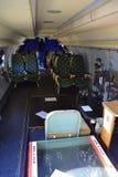 Ειδικό εσωτερικό αποστολών αεροσκαφών Στοκ φωτογραφία με δικαίωμα ελεύθερης χρήσης