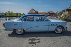 1954 ειδικό φορείο 4 πορτών Buick Στοκ Φωτογραφία