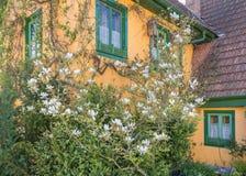 Ειδυλλιακή λεπτομέρεια σπιτιών Στοκ Φωτογραφίες