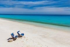 Ειδυλλιακή παραλία στην Αφρική Στοκ εικόνες με δικαίωμα ελεύθερης χρήσης