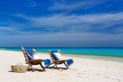 Ειδυλλιακή παραλία στην Αφρική Στοκ φωτογραφίες με δικαίωμα ελεύθερης χρήσης