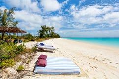 Ειδυλλιακή παραλία στην Αφρική Στοκ Εικόνα