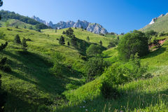 ειδυλλιακό βουνό τοπίων Στοκ φωτογραφίες με δικαίωμα ελεύθερης χρήσης