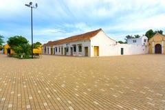 Ειδυλλιακό Plaza σε Mompox, Κολομβία Στοκ φωτογραφία με δικαίωμα ελεύθερης χρήσης