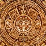 Ειδωλολατρική διακόσμηση μιας σύστασης της Maya φυλών Στοκ Εικόνα